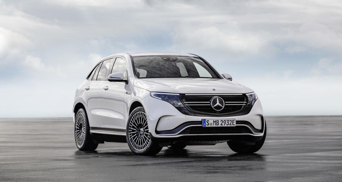 Prix Mercedes EQC : à partir de 71 281 €
