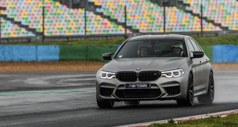 Sport confort en BMW M5 Compétition
