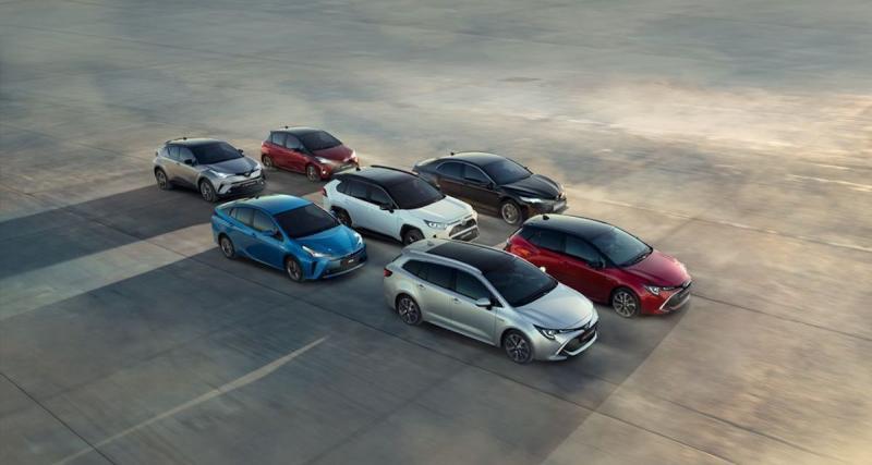 Quelle est la gamme Toyota HSD ?