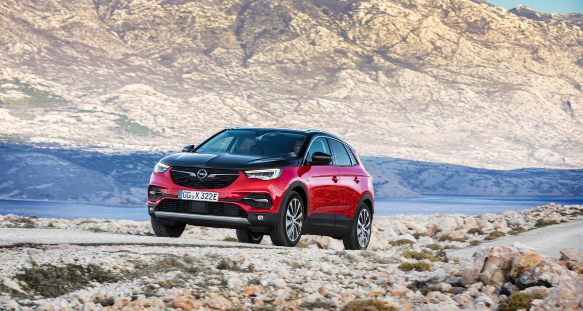 Opel Grandland X : l'Hybrid4 version allemande