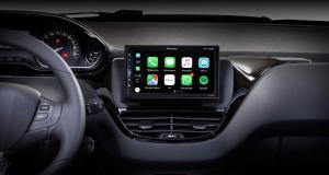 """Pioneer dévoile une tablette """"plug and play"""" avec CarPlay et Android Auto pour la Peugeot 208"""