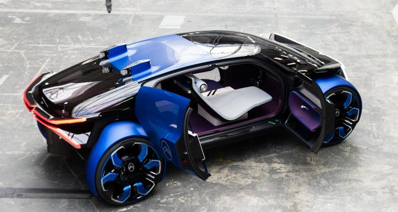 Concept Citroën 19_19: l'étude électrique et autonome en vidéo