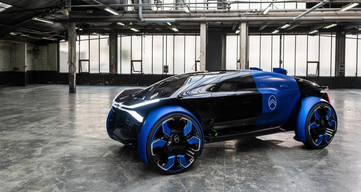 Concept Citroën 19_19: toutes les photos du véhicule autonome et électrique