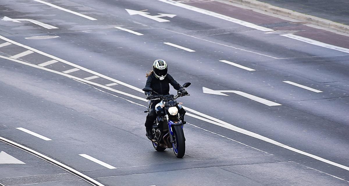 Un motard flashé à 185 km/h sur une route limitée à 80 km/h