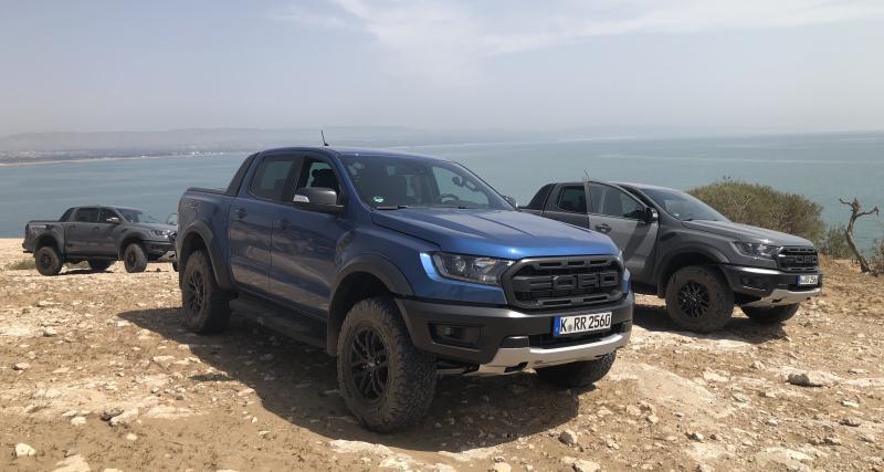 Ford Ranger Raptor : les photos de notre essai du pick-up
