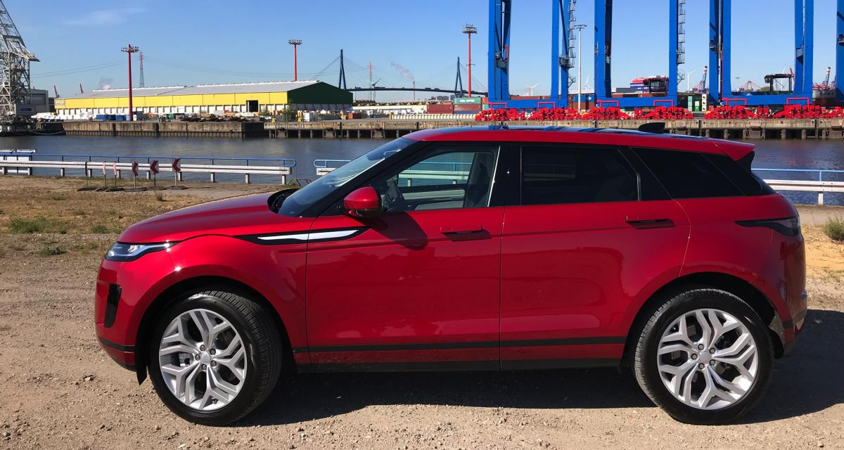 Range Rover Evoque : nos photos de l'essai à Hambourg