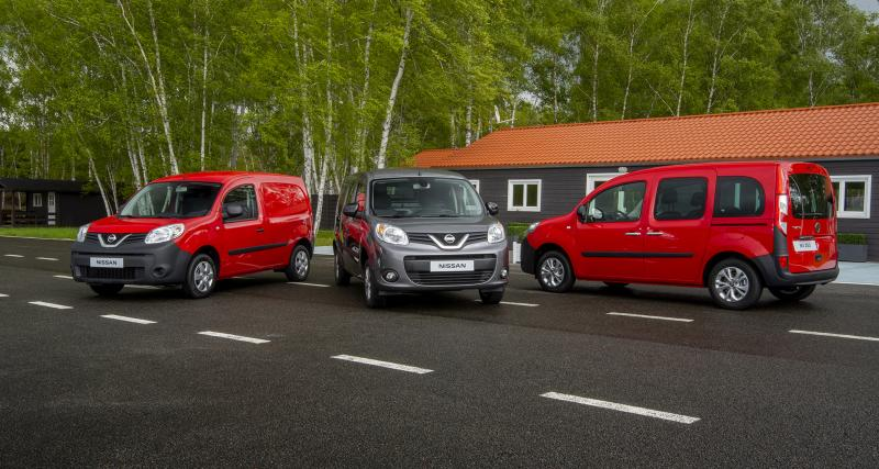 Nissan NV250 : Kangoo par alliance