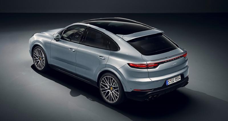 Prix du nouveau Porsche Cayenne Coupé S : à partir de 101 817 euros