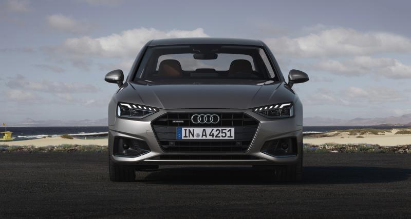 Nouvelle Audi A4 : une connectivité affirmée
