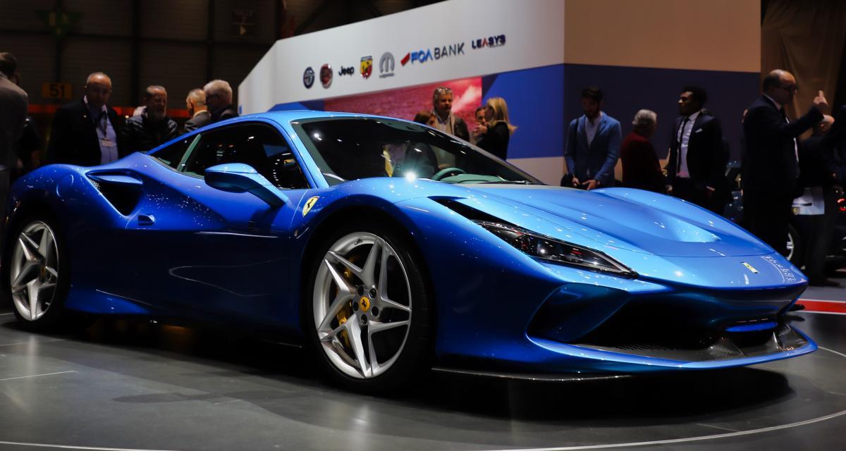 Ferrari F8 Tributo : les tarifs du bolide