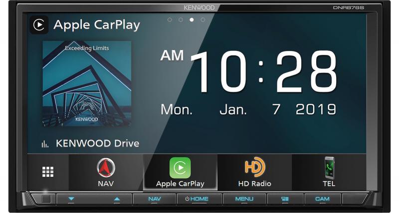 Un nouveau combiné multimédia 2 DIN très haut de gamme chez Kenwood