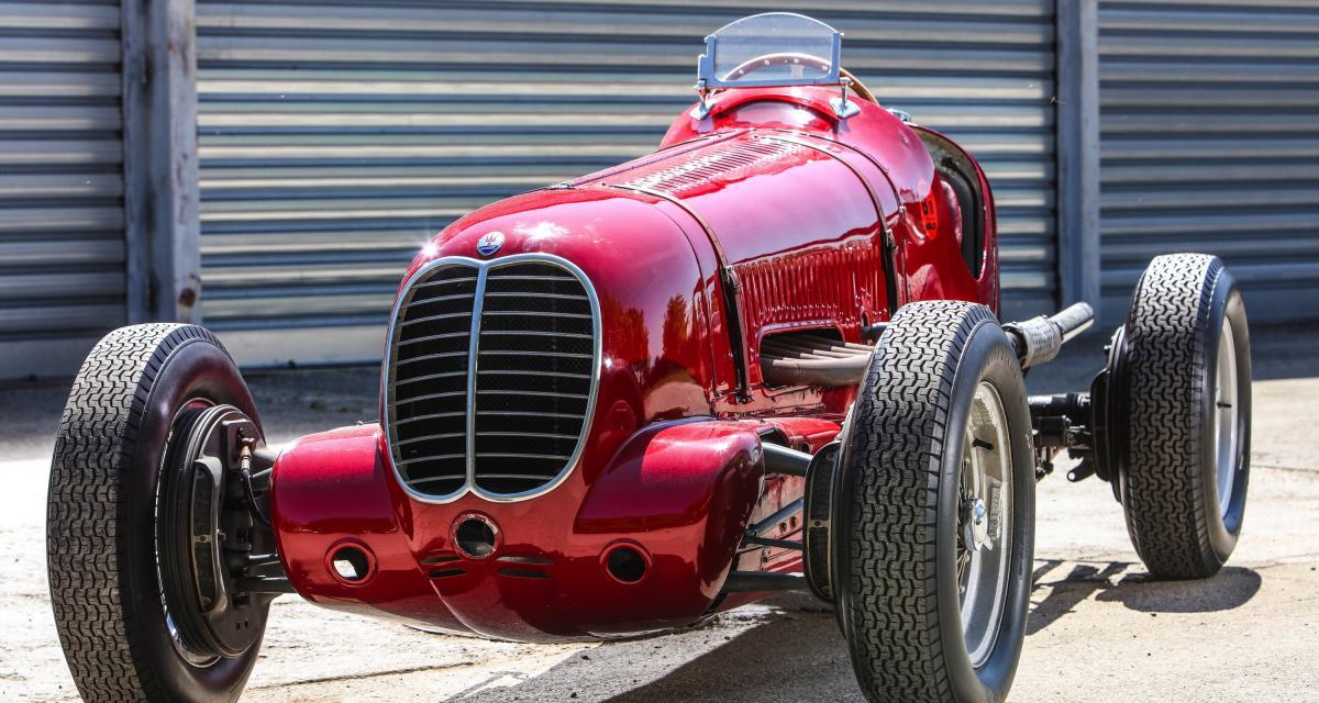 Maserati 6CM : le bolide fête les 80 ans de sa victoire à la Targa Florio