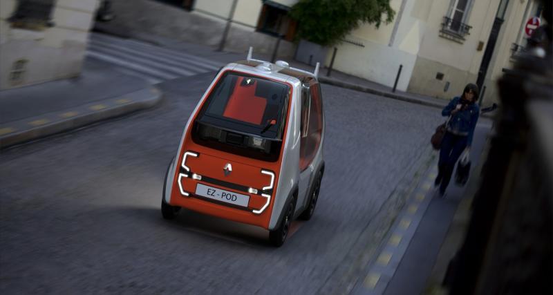 Renault EZ-POD : le Twizy en mode autonome
