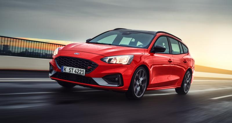 Ford Focus ST : les photos de la version SW de la sportive