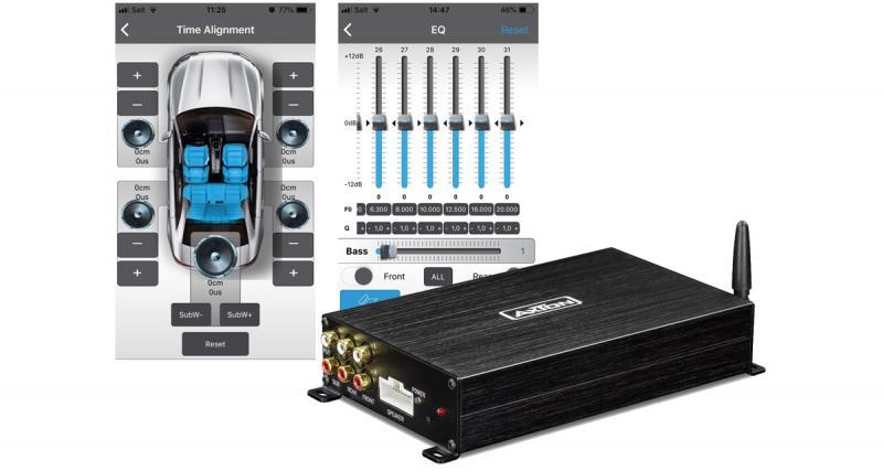 Axton présente un nouvel ampli DSP avec Bluetooth audio streaming à un prix canon