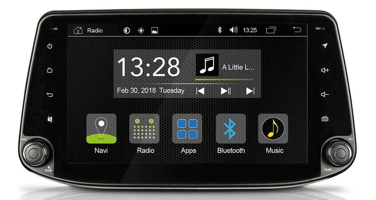 "Un autoradio Android ""plug and play"" pour la Hyundai i30 chez Radical"