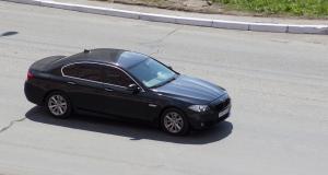 Flashé à 194 km/h en BMW Série 5 sur une route limitée à 110