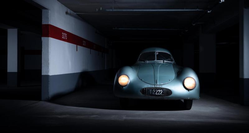L'inestimable Type 64 du génie Ferdinand Porsche