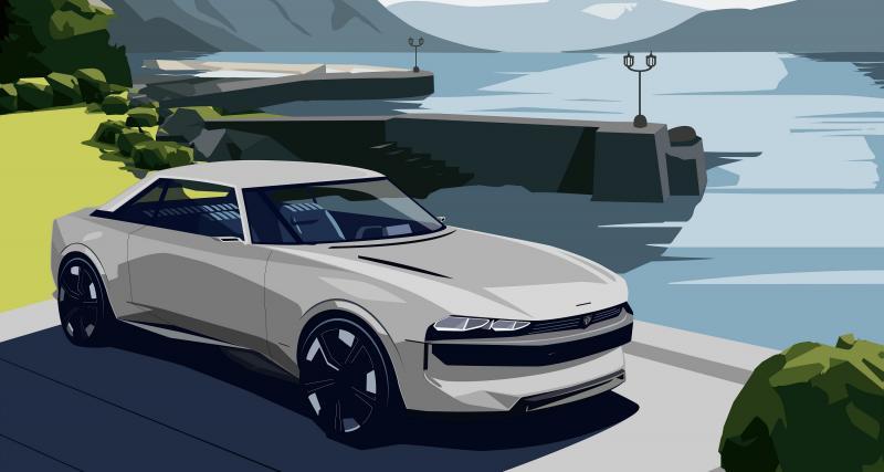 Peugeot: quand on reparle du e-Legend sur les rives du lac de Côme