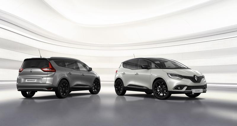 Renault Scénic : une série Black Edition embourgeoisée