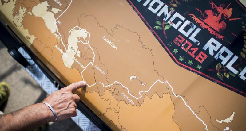 Le Mongol Rallye par the Adventurists
