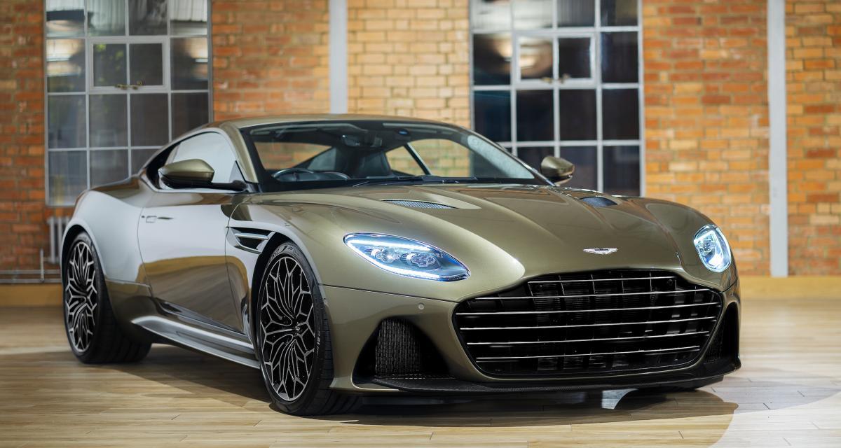 Aston Martin DBS Superleggera : toutes les photos d'une vraie James Bond car