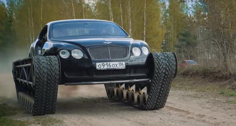 Bentley Continental GT Ultratank : tank il y aura des voitures...