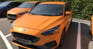 Nouvelle Ford Focus ST: les premières photos de l'essai de la compacte sportive
