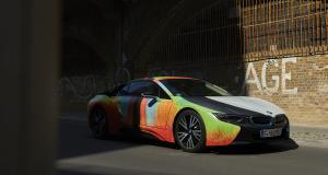 BMW i8 : sculpture automobile par Thomas Scheibitz