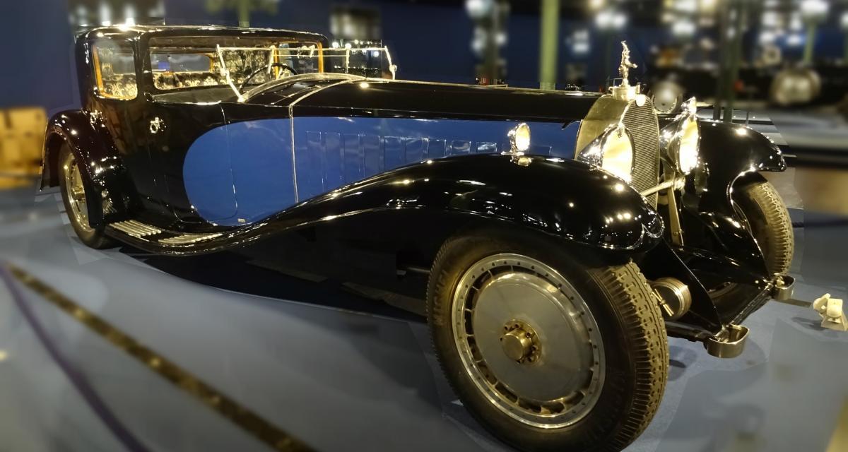 Bugatti au musée Schlumpf : programme spécial pour les 110 ans de la marque