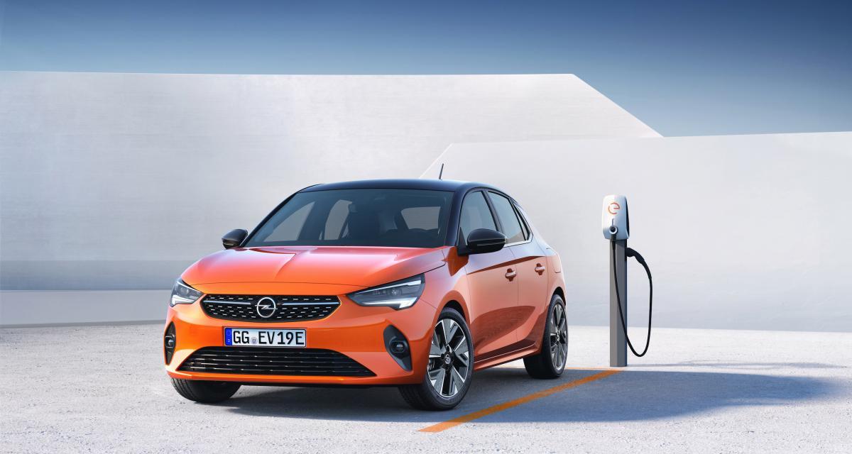 Opel Corsa-e : la version électrique avant les thermiques