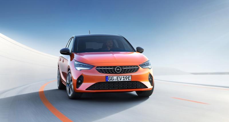 Opel Corsa-e : toutes les photos de la citadine électrique