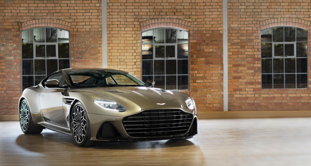 Aston Martin DBS Superleggera OHMSS : la Super GT de James Bond Car en 3 points