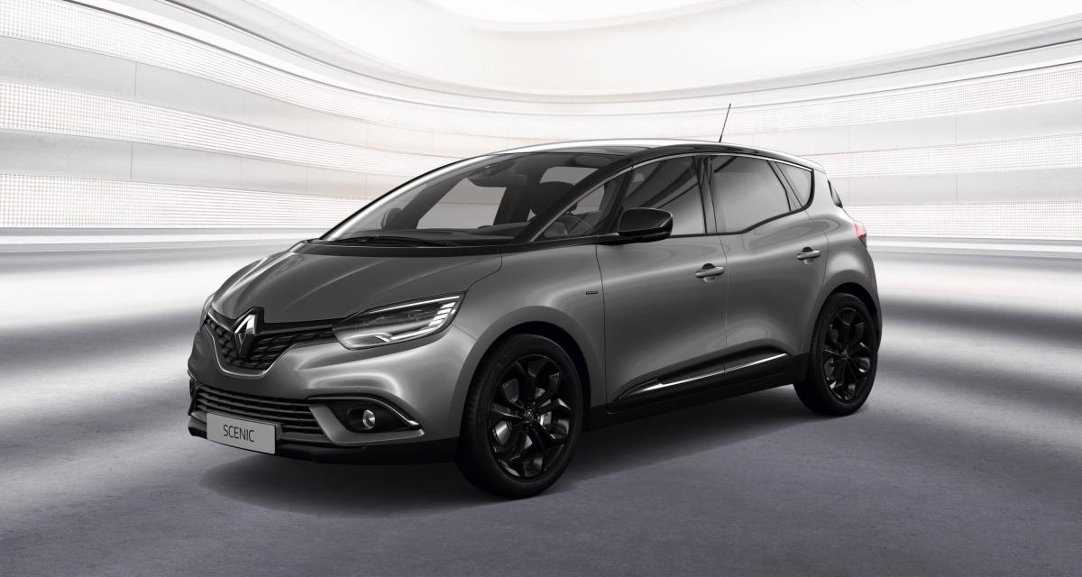 Renault Scénic et Grand Scénic : la Black Edition en 3 points