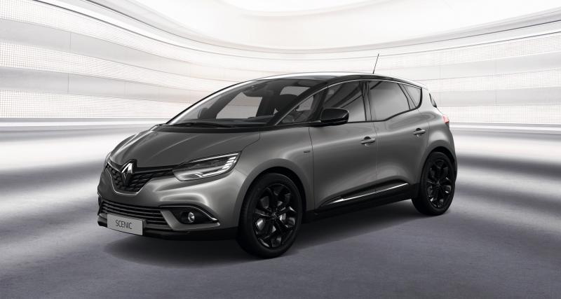 Renault Scénic et Grand Scénic : la Black Edition en 3 points