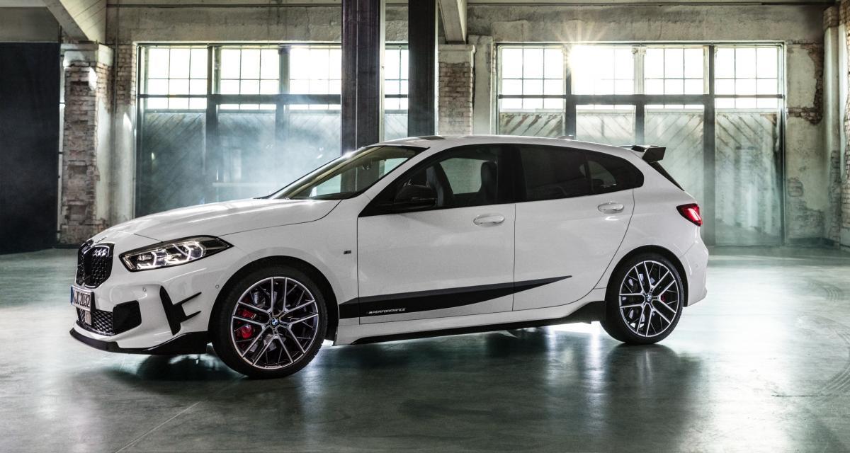 Nouvelle BMW série 1 : les pièces détachées M Performance sont disponibles
