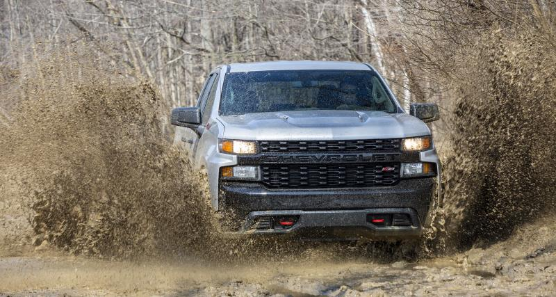 Chevrolet Silverado 1500 : l'offre moteur du pick-up pour 2020