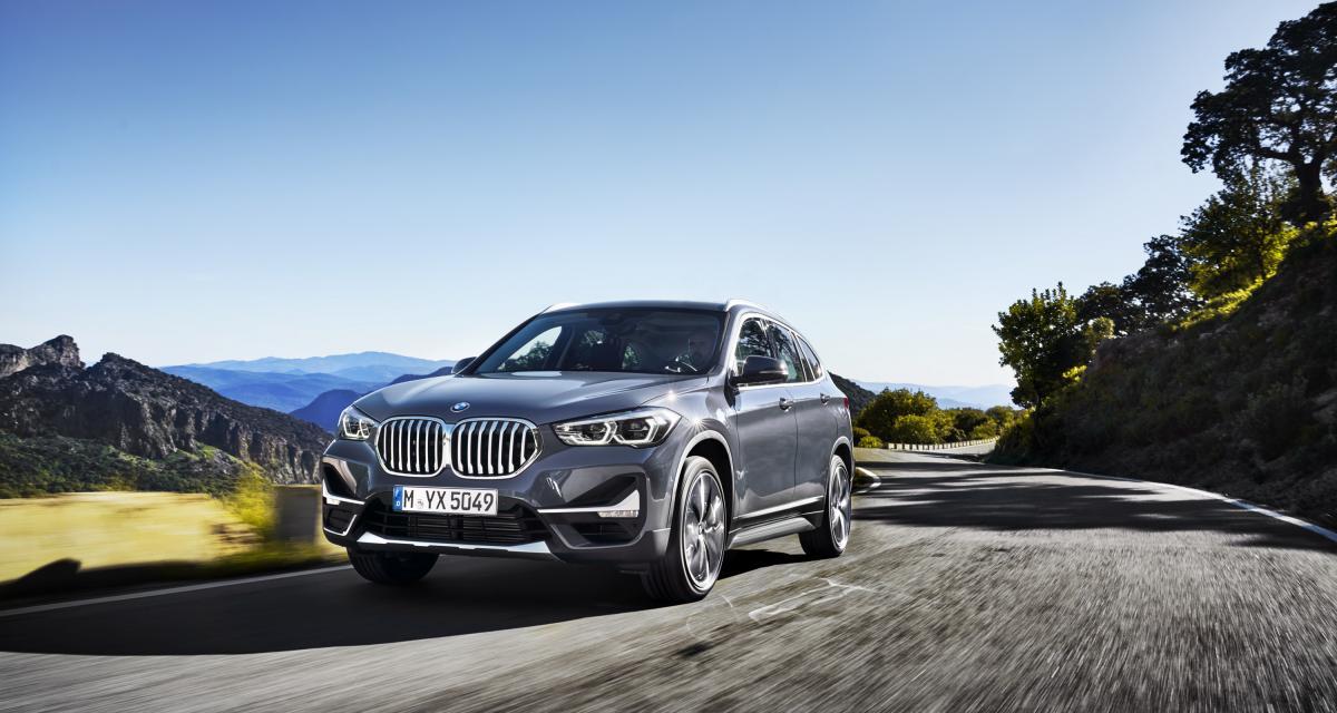 BMW X1 : toutes les photos de son restylage 2019