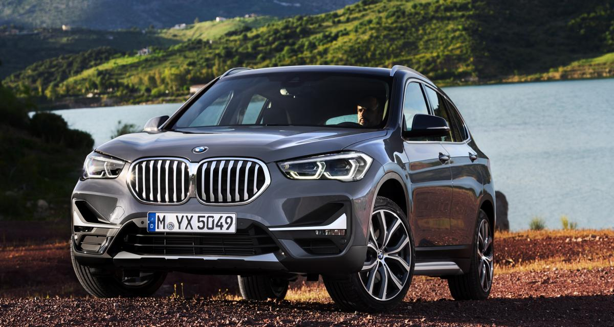 BMW X1 2019 : repoudrage de principe