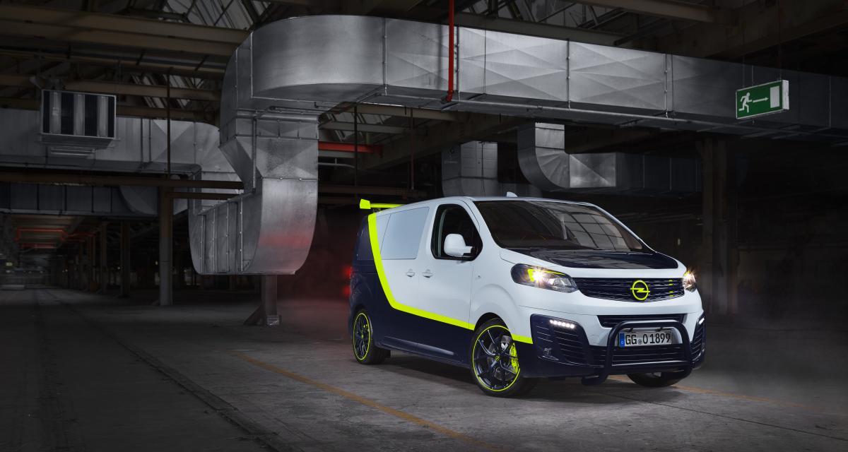 Opel Zafira Life O-Team : toutes les photos du concept