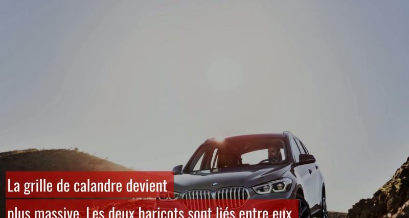 BMW X1 : présentation du restylage 2019 en vidéo