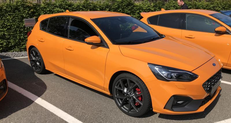 Nouvelle Ford Focus ST : en attendant l'essai… chut...