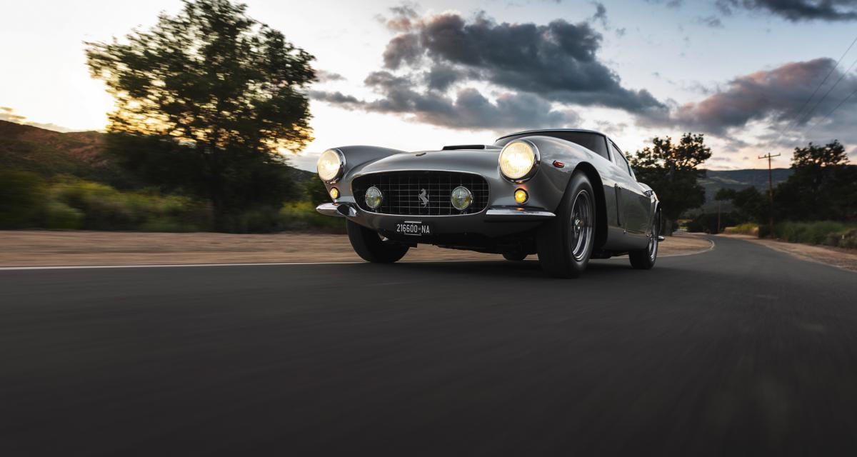 Vente aux enchères de Monterey : Ferrari 250 GT SWB Berlinetta par Scaglietti