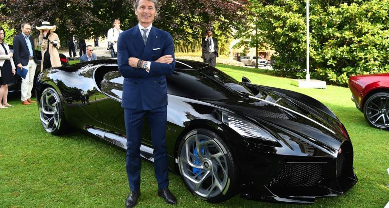 Bugatti La Voiture Noire à la Villa d'Este : toutes les photos de la gagnante