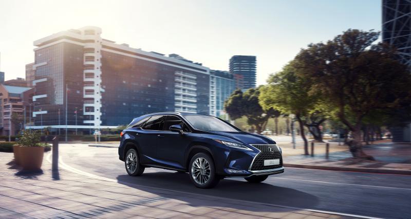 Lexus RX : restylage techno pour le SUV japonais