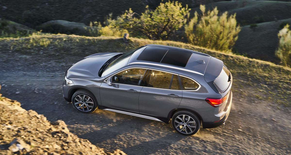BMW X1 2019 : le crossover restylé en trois points