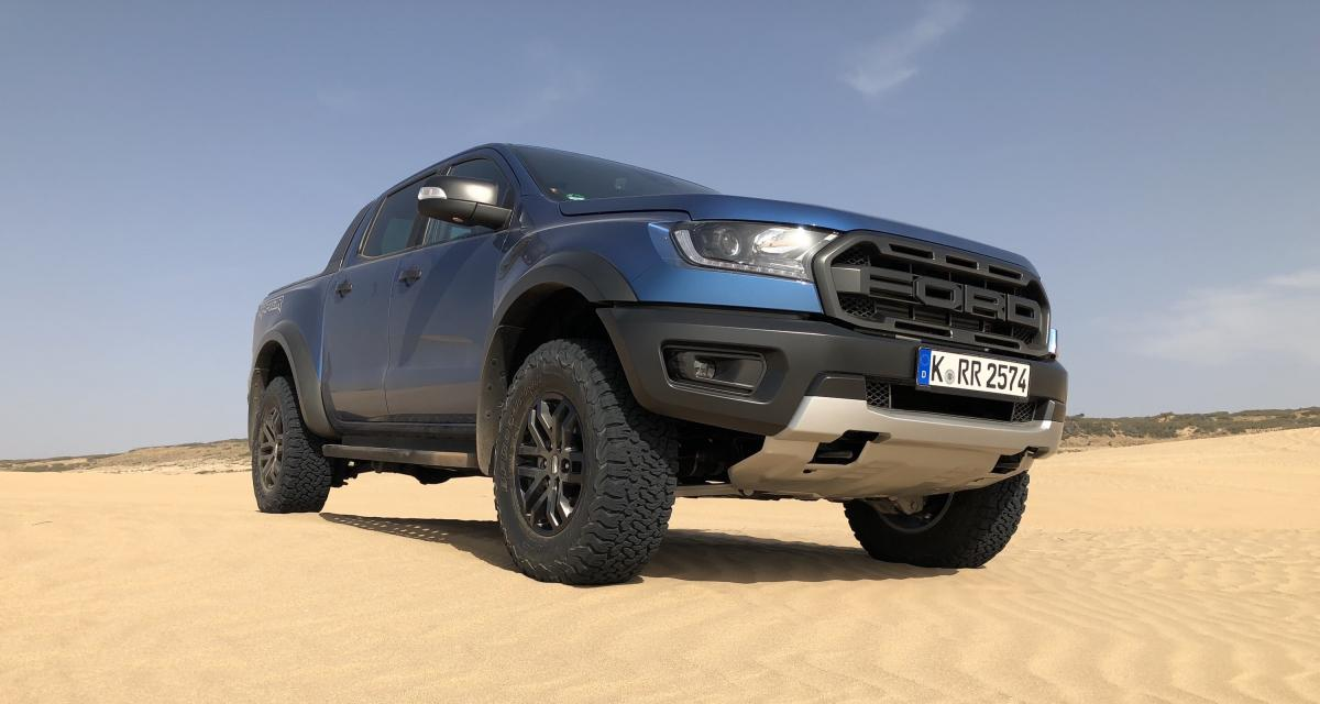 "Essai du pick-up Ford Ranger Raptor : ""Yiiihaaa!"""