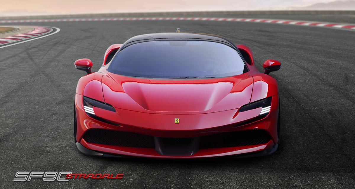 Ferrari SF 90 Stradale : la nouvelle supercar italienne en 3 points