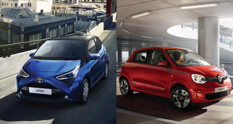 Toyota Aygo / Renault Twingo : comparatif entre les reines de la ville
