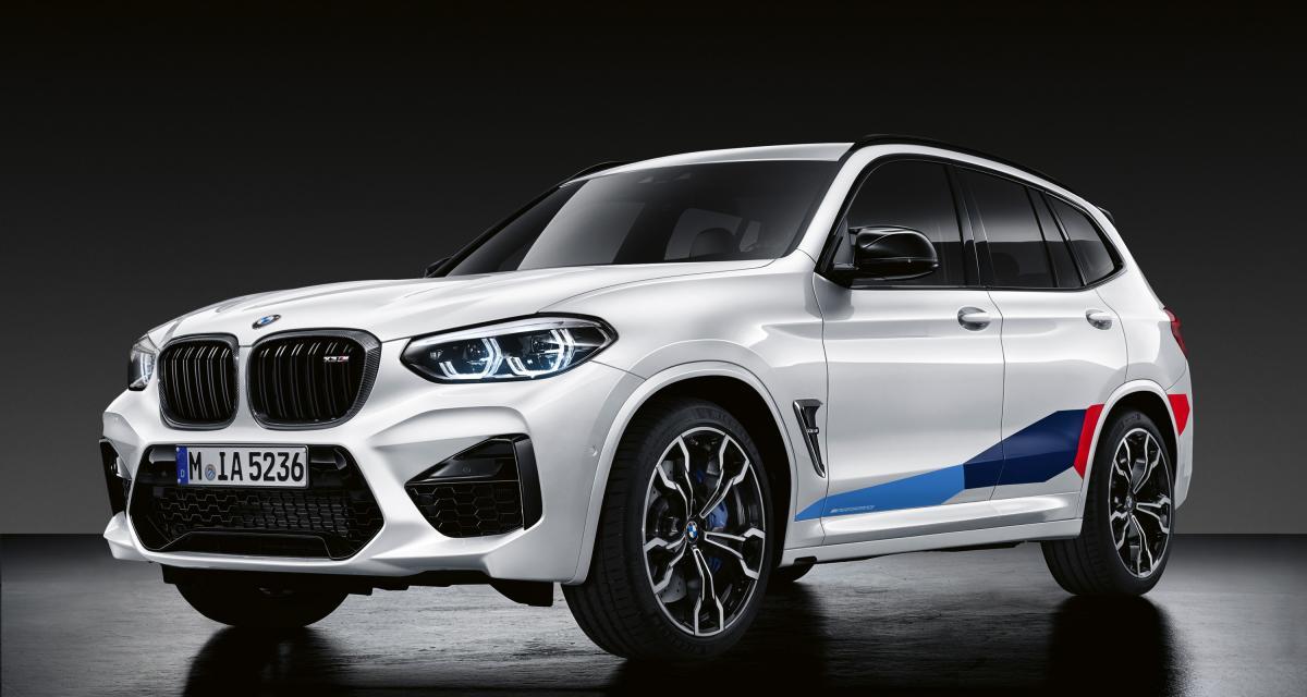 BMW X3 M et X4 M : les parures de sport sont là !
